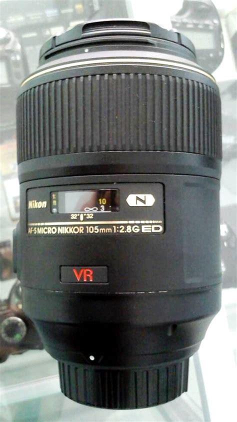 Jual Lensa Fix Nikon Bekas jual lensa nikon 105mm f 2 8 vr bekas jual beli laptop