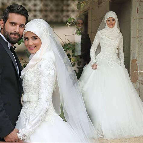 Wedding Muslim Dress by C71521a New Design Muslim Wedding Dress White Wedding
