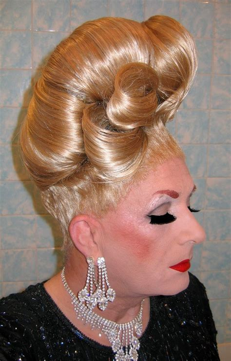 sissy with femme updo pics 1000 images about denise on pinterest wall street