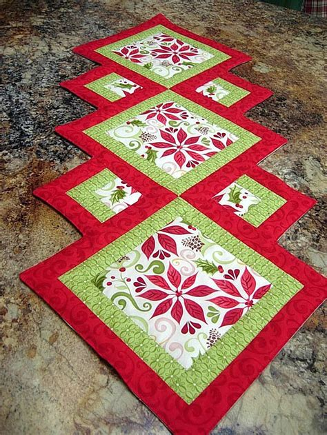 Patchwork Table Runners Free Patterns - 17 diy quilted table runner ideas for all year
