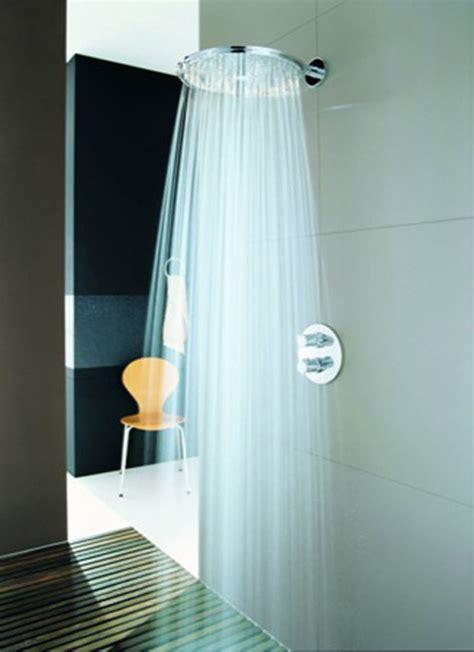 bodengleiche dusche wasser läuft aus nuevas sensaciones con la gama rainshower de grohe aqua