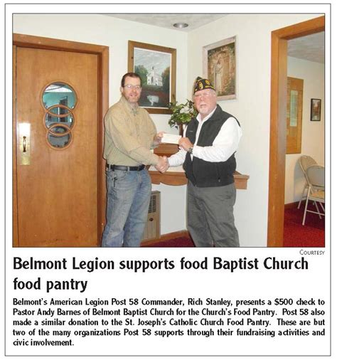Belmont Food Pantry by Town Of Belmont New Hshire