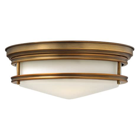 Flush Fitting Ceiling Lights Uk Flush Fitting Circular Ceiling Light In Brushed Bronze With Glass Shade