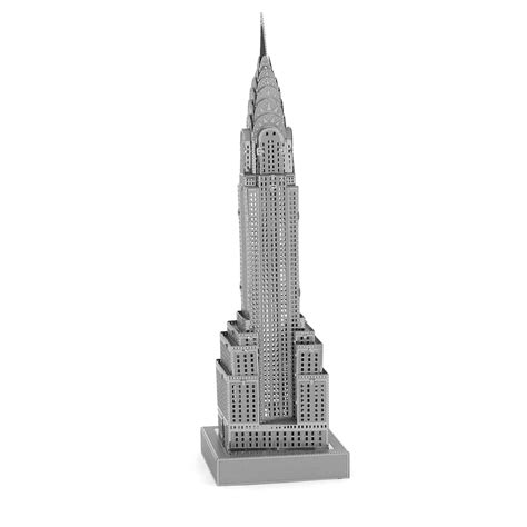 Picture Of Chrysler Building by Fascinations Metal Earth 3d Metal Model Diy Kits