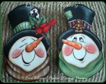 tole painting christmas ornament patterns popular items for snowmen patterns on etsy