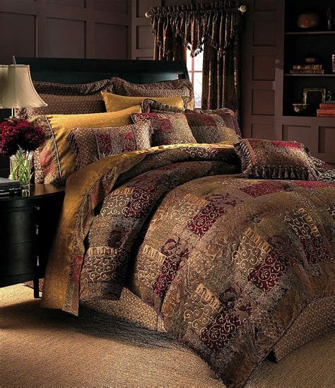 croscill galleria red bedding collection dillards com
