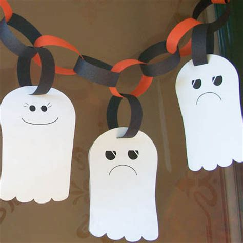 ghost crafts for make a ghost garland crafts s crafts