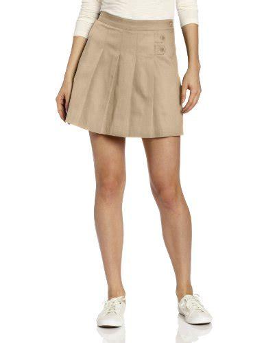 pleated khaki skirt dress ala