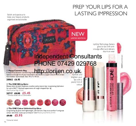 Oriflame The One Colour Unlimited Lip Gloss Evermore 30642 oriflame catalogue uk 06 2016