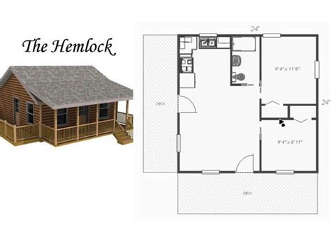 1 story 2 bedroom house plans