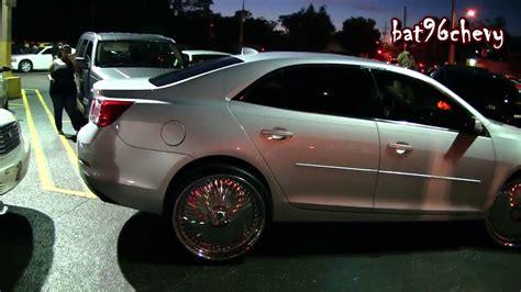 2014 impala on 24s 2013 chevy malibu on 24 quot dub bellagios 2010 impala on 26