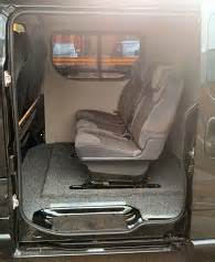 Vauxhall Vivaro Cer Conversion Vauxhall Vivaro Conversion Exles Seat Conversion