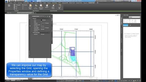 remove grid from layout view autocad grid coord systemt youtube