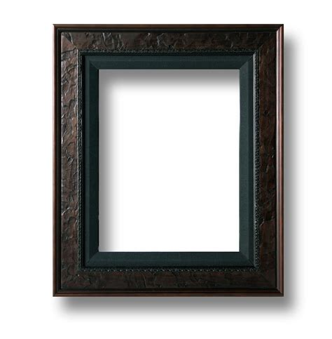frame for pictures frame 1 leather black linen
