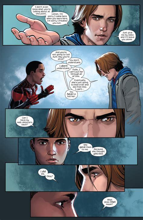Spider Morales Vol 2 image morales ultimate spider vol 1 2 page 8