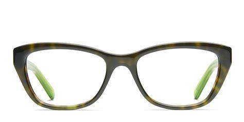 dkny 4665 clear tortoise eyeglasses tortoise green