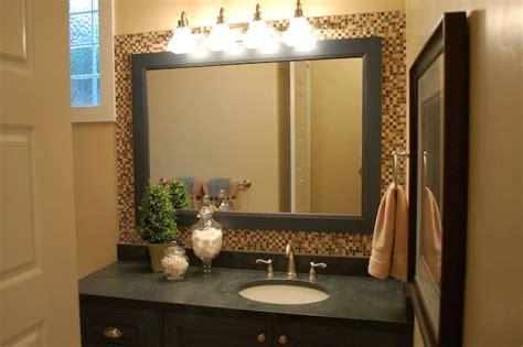 Bathroom Mirror No Backsplash Bathroom Mirror Mosaic Bathroom Mirror Framed Mosaic