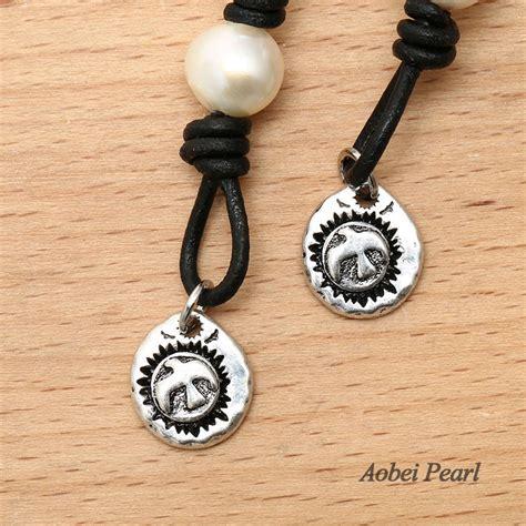 B474 Black aobei pearl pearl leather bracelet for with genuine pearl and leather pearl bracelet