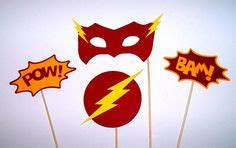 Photobooth Props Acc Photobooth Property Photo Prop Pow 1 the flash symbol stencils cumplea 241 os