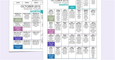 Printable Daily Devotional Calendar | free october 2015 devotional calendar and worksheets from
