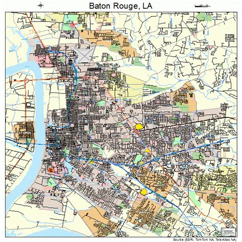 baton map baton louisiana map 2205000