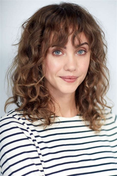 hairstyles curly bangs curly hairstyle with bangs cute hairstyles for medium hair