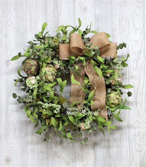 17 best images about handmade country farmhouse wreaths