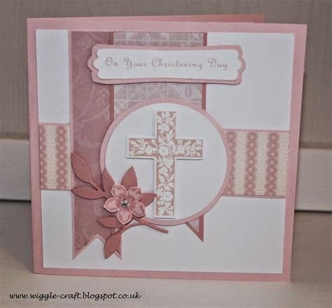 Christening Handmade Cards - 25 best ideas about christening card on