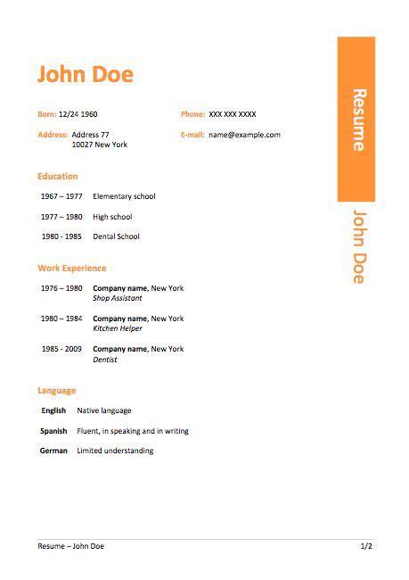 best resume builder free beautiful free resume template windows 7
