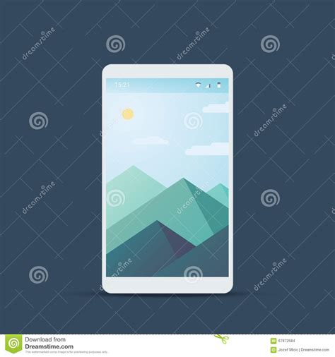 material design backdrop mobile user interface screen with material design