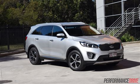 Sorento Kia 2015 2015 Kia Sorento Sli V6 Review Performancedrive
