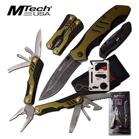 utility knife multi tool utility knife set 4 pc survival work kit credit card