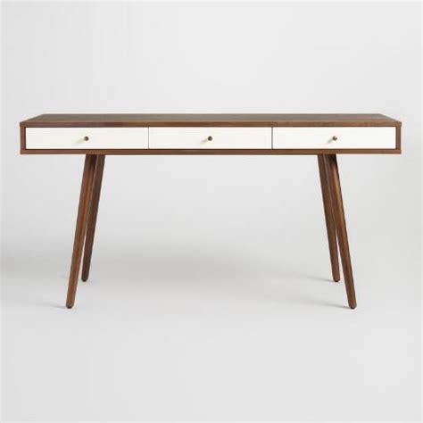 mid century desk wood zarek mid century style desk market