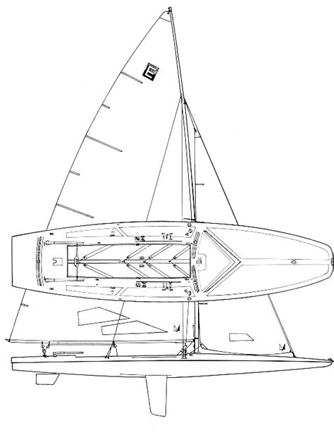 e scow sailing e scow sailboat specifications and details on sailboatdata