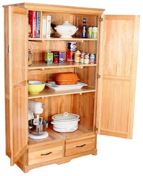 Kitchen Cabinets Assembly Required by Bradley Brand Furniture 3051 Na Pantry Cabinet