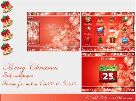 christmas themes x2 new year themes nokia asha 308 new calendar template site