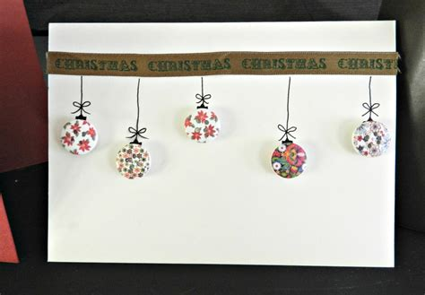 Christmas Gift Card Ideas - christmas cards buttons the ana mum diary