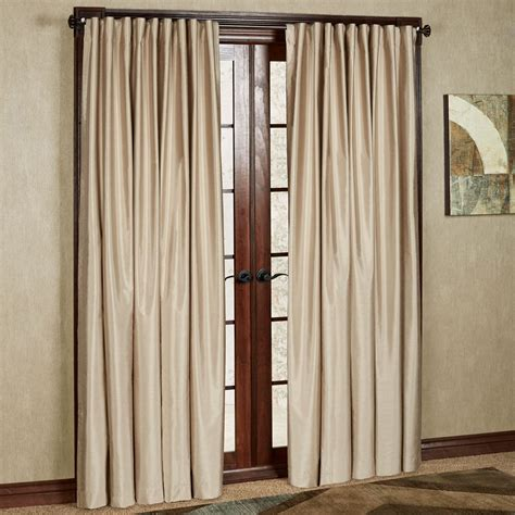 wide draperies fontaine back tab wide width curtain pair touch of class