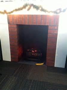 diy cardboard fireplace pin by becky on ideas