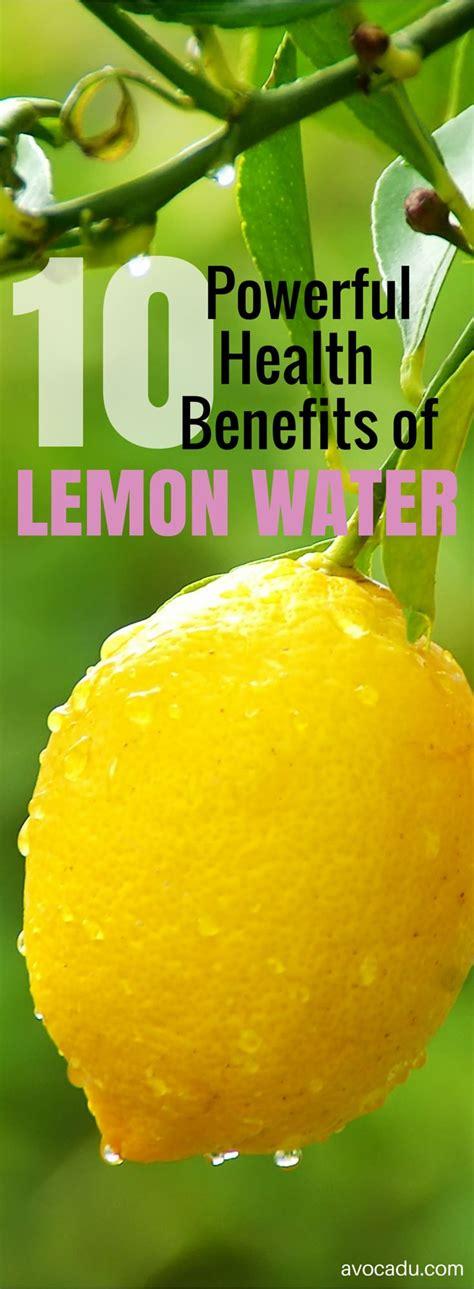 Lemon Water Detox Cancer by Best 25 Lemon Water Ideas On Lemon