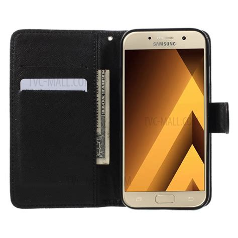 Samsung Galaxy A5 2017 Leather Casing Kulit Flip Cover Caseme patterned flip stand leather wallet for samsung galaxy a5 2017 a520 dot not touch my