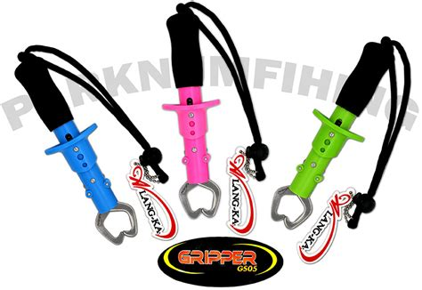 Promo Mustad Fish Gripping Tool With Scale Mt021 Virajaya gripper