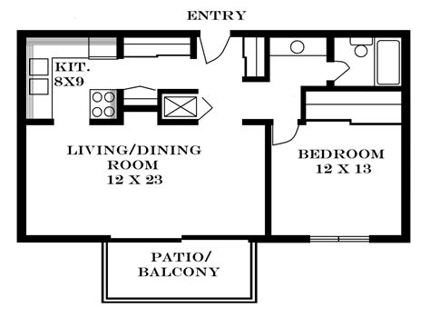 what does a 700 sq ft apartment look like 700 square feet floor plans