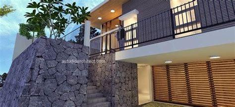 desain kamar diatas garasi a rumah luas dengan model villa 12 x 25 m lahan desain