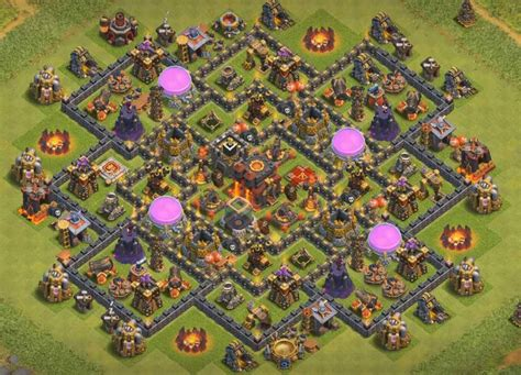 coc base layout free download 50 latest th10 undefeated bases designs layouts 2017
