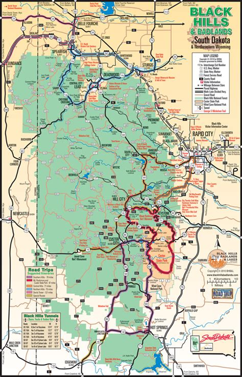 printable south dakota road map debra s dose tuesday continued blackhills mt rushmore