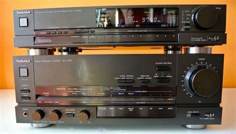 Tuner Tv Tabung Sharp technics su v90d class aa high end lifier with d a converter st g70 class aa quartz