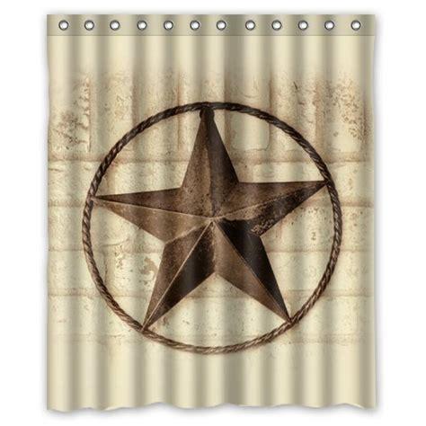 texas star shower curtain 66 off creative bath western texas star shower curtains