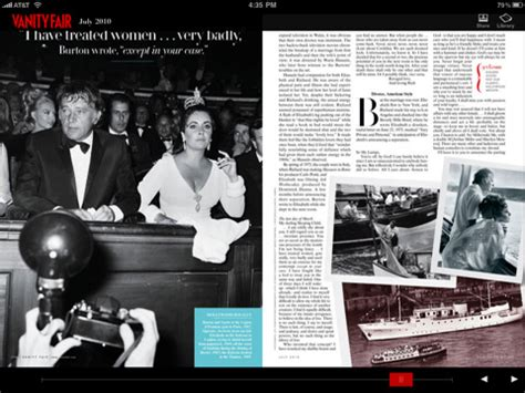 Vanity Fair Magazine App by 5 Killer Magazines Available On Right Now