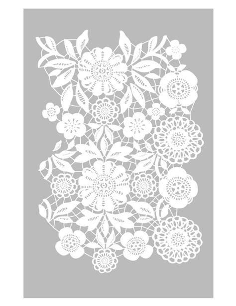 lace template best 20 lace stencil ideas on lace embroidery